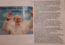 Albumy wykonane przez uczniów klasy VB upamiętniające 100. rocznicę urodzin Jana Pawła II